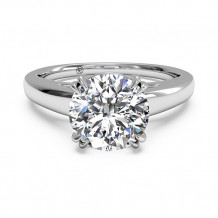 Ritani Solitaire Diamond Cathedral Tulip Engagement Ring - 1R7232