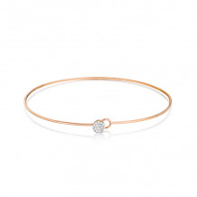 Phillips House 14k Rose Gold Diamond Bracelet - B0115DR-JB