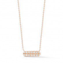 Dana Rebecca 14k Rose Gold Sylvie Rose Necklace - N2000