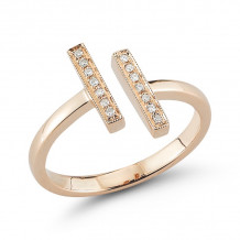 Dana Rebecca 14k Rose Gold Sylvie Rose Diamond Ring - R314-4