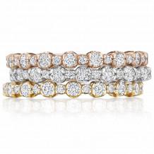 Bride2Be 14k White Gold Diamond Wedding Band