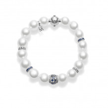 Mikimoto 18k White Gold Essentials Pearl Bracelet - MDS10507NRX4000