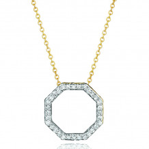 Phillips House 14k Yellow Gold Hero Diamond Necklace - N3003DY