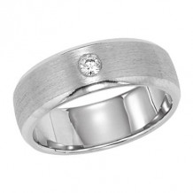 Lieberfarb Platinum Designs Diamond Wedding Band