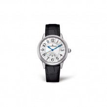 Jaeger-LeCoultre White Stainless Steel Diamond Rendez-Vous Men's Watch - 3548490