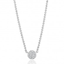 Phillips House 14k White Gold Diamond Necklace - N20023DW-JB