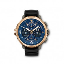 IWC 18k Rose Gold Aquatimer Men's Watch