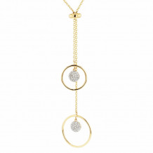 Phillips House 14k Yellow Gold Diamond Necklace - N1728DY