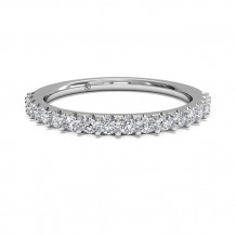 Ritani Women's French-Set Diamond Wedding Band - 21323