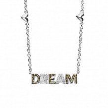Lagos 18k Gold & Sterling Silver Beloved Diamond Dream Necklace