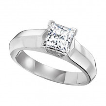 Lieberfarb Platinum Solitaire Engagement Ring - ED70824