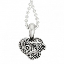 Lagos Sterling Silver Hearts of LAGOS Heart of New Orleans Pendant