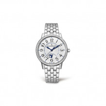 Jaeger-LeCoultre White Stainless Steel Diamond Rendez-Vous Men's Watch - 3448120