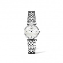 Longines La Grande Classique de Longines Quartz Stainless Steel Women's Diamond Watch